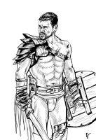 Spartacus BW by admat