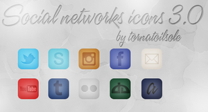 Social Networks - Icons by Helcabu