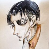 Levi Ackerman by KissMeSoon