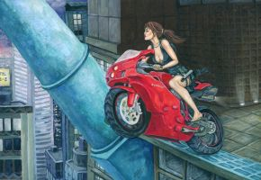 Quick tour on the Ducati Superbike by alineshenon