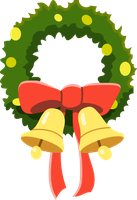 MLP Resource: Heart's Carol Wreath by mewtwo-EX