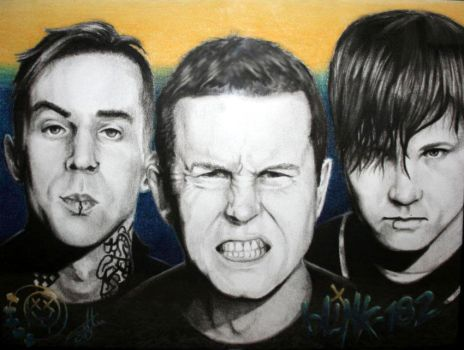 Blink-182 by x-BoneZ-x