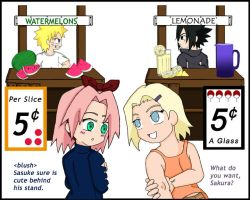 Little Konoha Vendors by ToonTwins