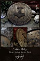 Valhalla Rising - decorative shield 1 by morgenland