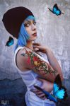 Chloe Price Blue Butterfly by LilituhCosplay