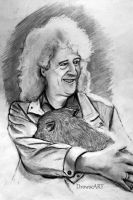 Brian May by DrowseART