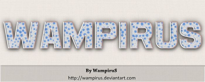 Furry Text Effect by WampiruS