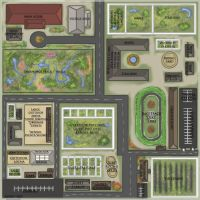 CanterWood Creek Stables Map by Belle980