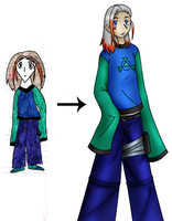 Ken Li Zing - Before and Now by Kima-chi