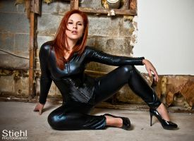 Stiehl Photography - Redhead In Black by Chrissy-Daniels