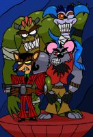 Cortex's Gang- Crash Bandicoot 1 by NyxenAvenger