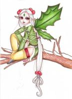 Holly Berry Fairy by kupi