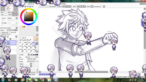Shimeji Hunter x Hunter - Killua DOWNLOAD by MysticShonu
