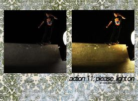 Action 11: Please, lights on by greatedition