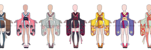 ...Endless Beauty...Kimono Adopts... 0/7 CLOSED by Seelenbasar
