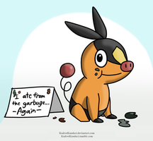 Pokeshaming: Tepig by His-Bushman