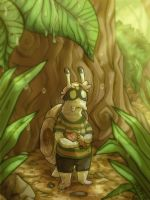 little lost snail by Skittycat