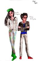 Bianca and Nico DiAngelo by EmiliaArgon