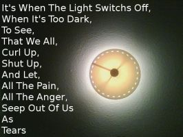 When The Light Turns Off by JetBlackHeartxxx
