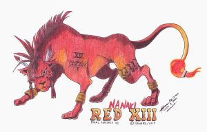 Red XIII 1 by hirokada