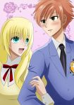 Ouran Couple: Hanako! Be brave!! You can do it! by Jusace