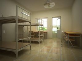 3D - Dormitory MD by nnq2603