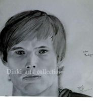 Bradley James by Dinkidi