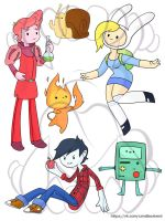 Adventure time by KagaminLight