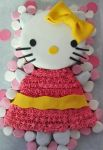 Hello Kitty cake by I-am-Ginger-Pops