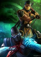 Mortal Combat by fresh-style