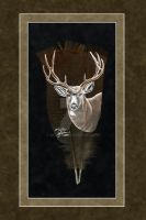 Mule Deer Feather by dittin03