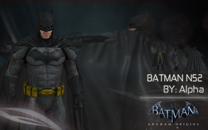 Batman Arkham: Origins - N52 Console by XNASyndicate
