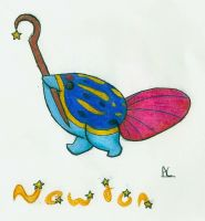 Newton by ACrowsCollection
