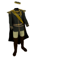 Kingdom Clothing #26 kings green sash costume by madetobeunique