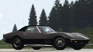 1969 Chevrolet Corvette Stingray Convertible (GT5) by Vertualissimo