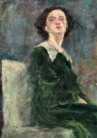 Woman in Green by chavezy