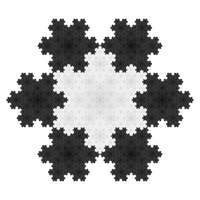 Classic: Kochs snowflake by paxinum