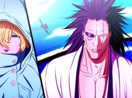Bleach 573 colored by suiken by suiken22