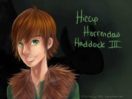 Hiccup - Digital Paint Practice by reikohattori