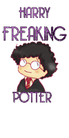 Harry Freaking Potter by Thatu