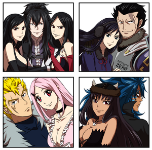 Commission : Fairy Tail Couples 2 by ForeverMedhok