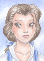 ACEO Belle by Rooro22