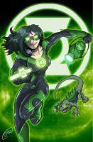 Green Lantern - Charon by MachSabre