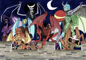 one piece, Gargoyles by heivais