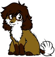 Fluffy Doge +Commish+ by Spottedfire-cat