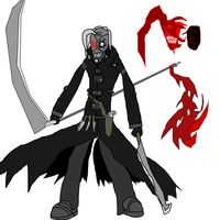 Original Character : DeadCell and 3rror by MethusulaComics