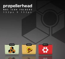 ' Propellerhead Mac Icon Folders ' by lenorelastvampire