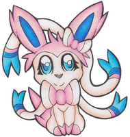 Pokemon - Sylveon by heatbish
