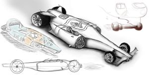 Racecar design by Rob54613