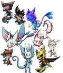 .:Mixed Adopt Sheet (OPEN):. by FlamesVoices